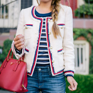 NWT J Crew Tweed Blazer Jacket Size 4